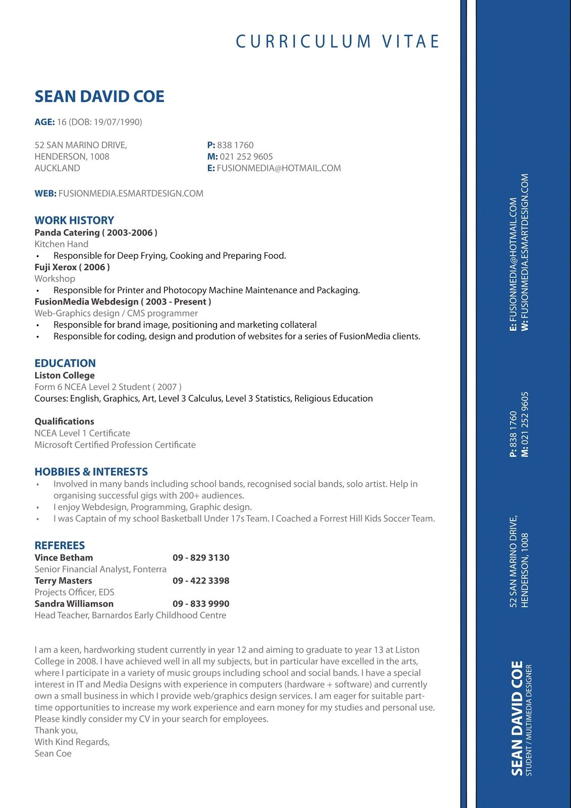 Form Resume Layout Examples Resumes Format Tips Business Insider