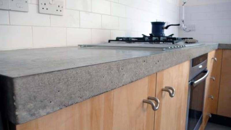 Should i have polished concrete floors polished concrete for Polished concrete kitchen countertops