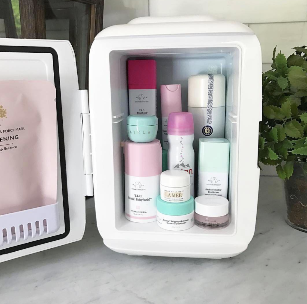 Would You Buy A Mini Fridge Just For Your Skin Care Products Beauty Care Beauty Skin Care Beauty Skin