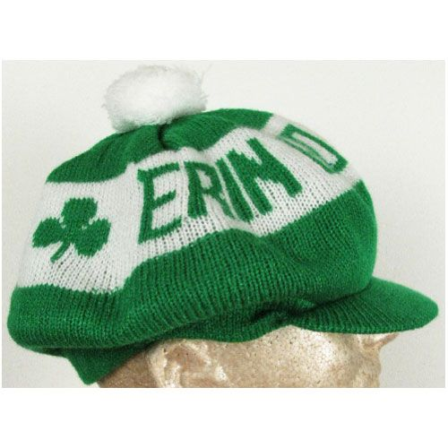 f8ef1bcd8e7 St. Patrick s Day Erin Go Bragh Knit Irish Pom Pom Hat  14.95  Chicago Cubs