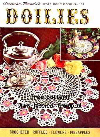 Tea And Roses Doily Doiliescoasters Pinterest Teas Crochet