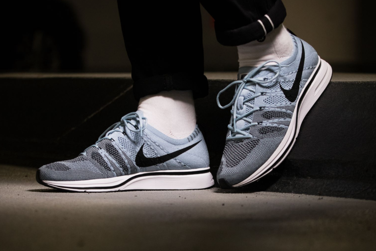 80e388ab484e The Nike Flyknit Trainer Cirrus Blue Says Goodbye To Summer