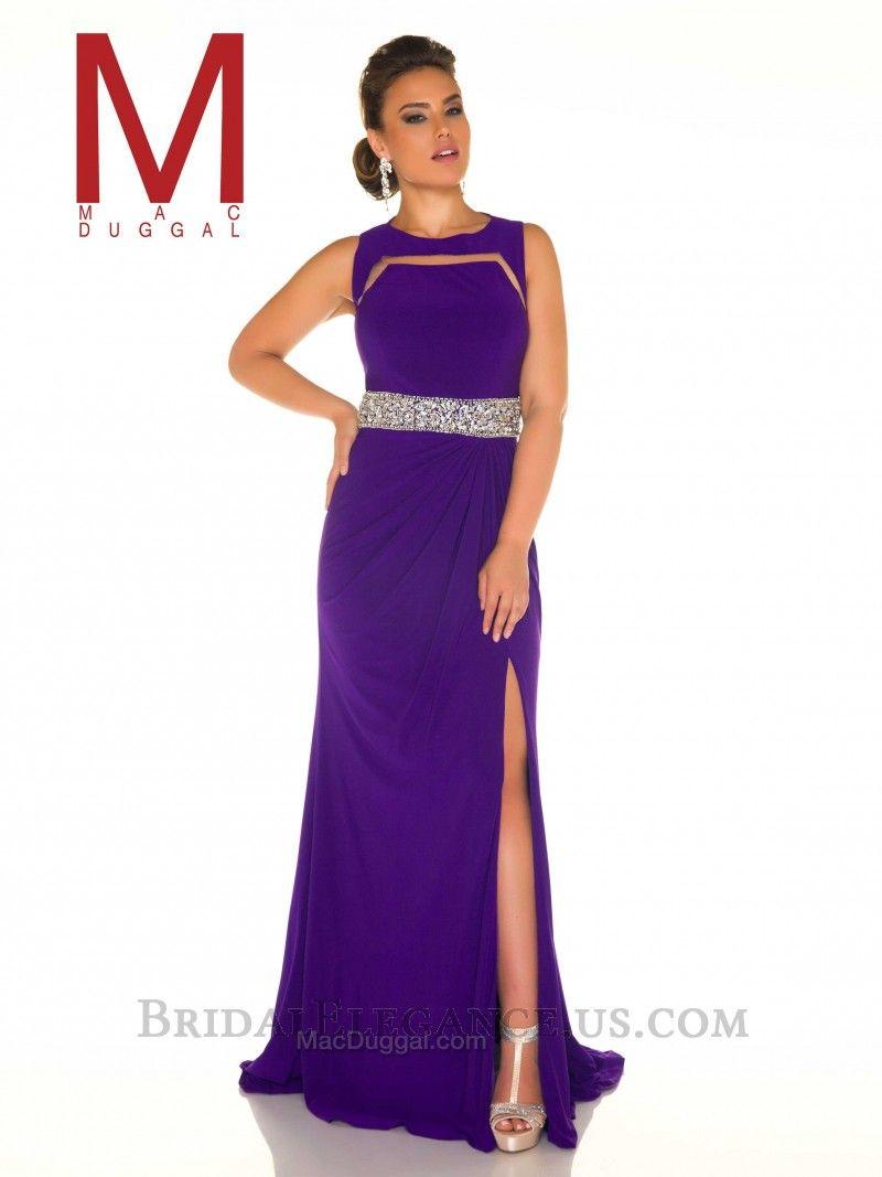 Royal purple illusion cut gown prom purple rain prom pinterest