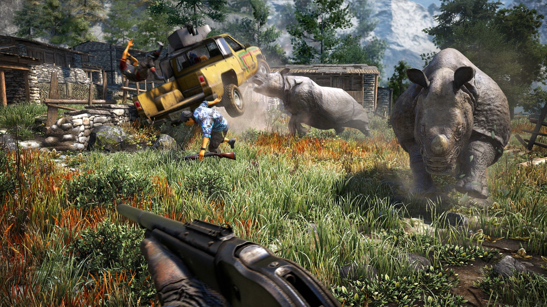 Far Cry 4 Images Gamespot Far Cry 4 Xbox One Video Games