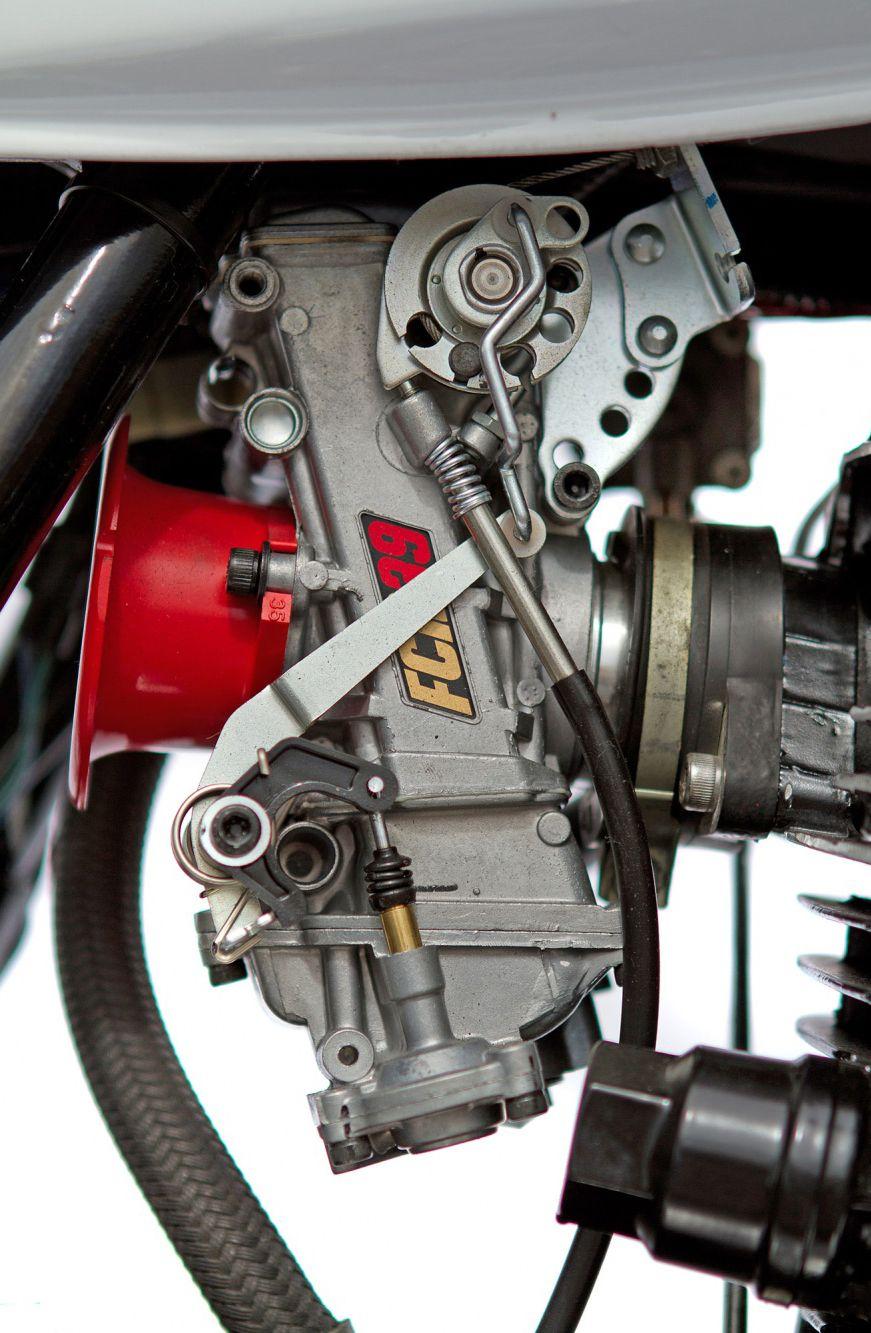 Custom Yamaha SR500 RB Racing custom motorcycle parts