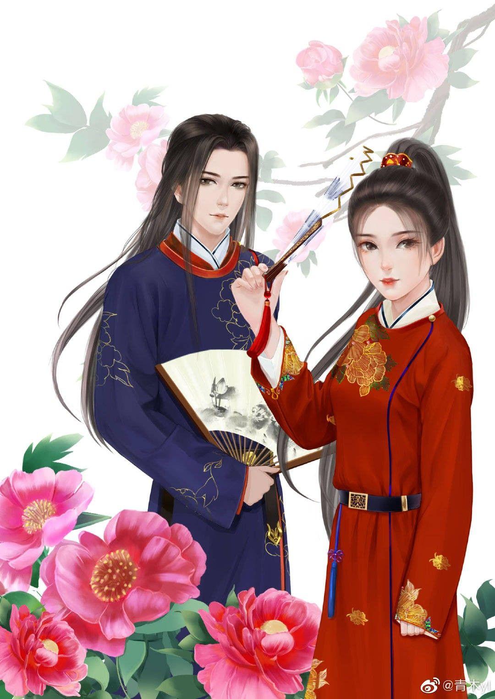 mnizoe184 Cre On pic Anime, Chiến binh, Cặp đôi