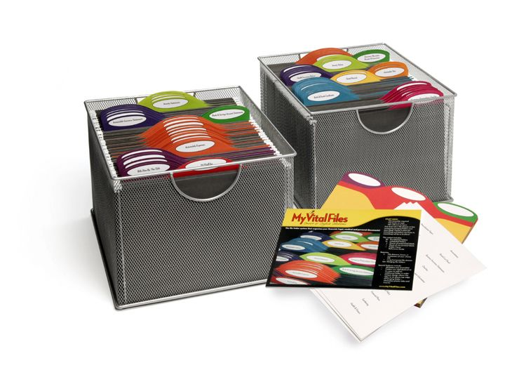Product Its Called My Vital Files And It S A Home Filing
