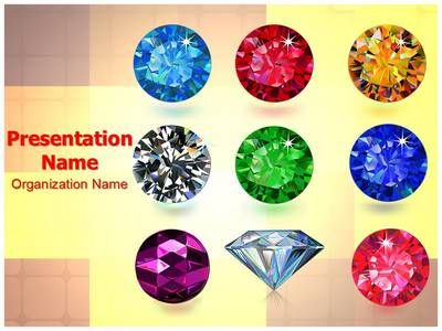 Jewelry Gemstone Powerpoint Template Is One Of The Best Powerpoint Templates By Editabletemplates Com Powerpoint Templates Powerpoint Themes Powerpoint Layout