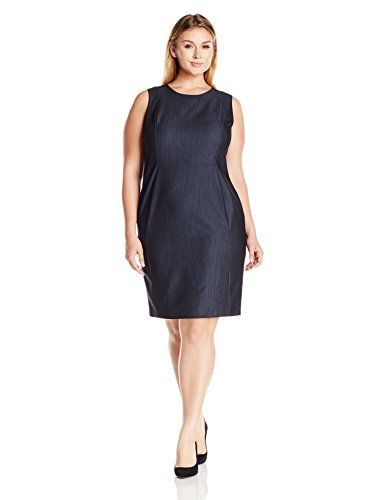 08ac033209e The perfect Calvin Klein Women s Plus-Size Denim Sheath Dress online.    79.97  topbrandsclothing from top store