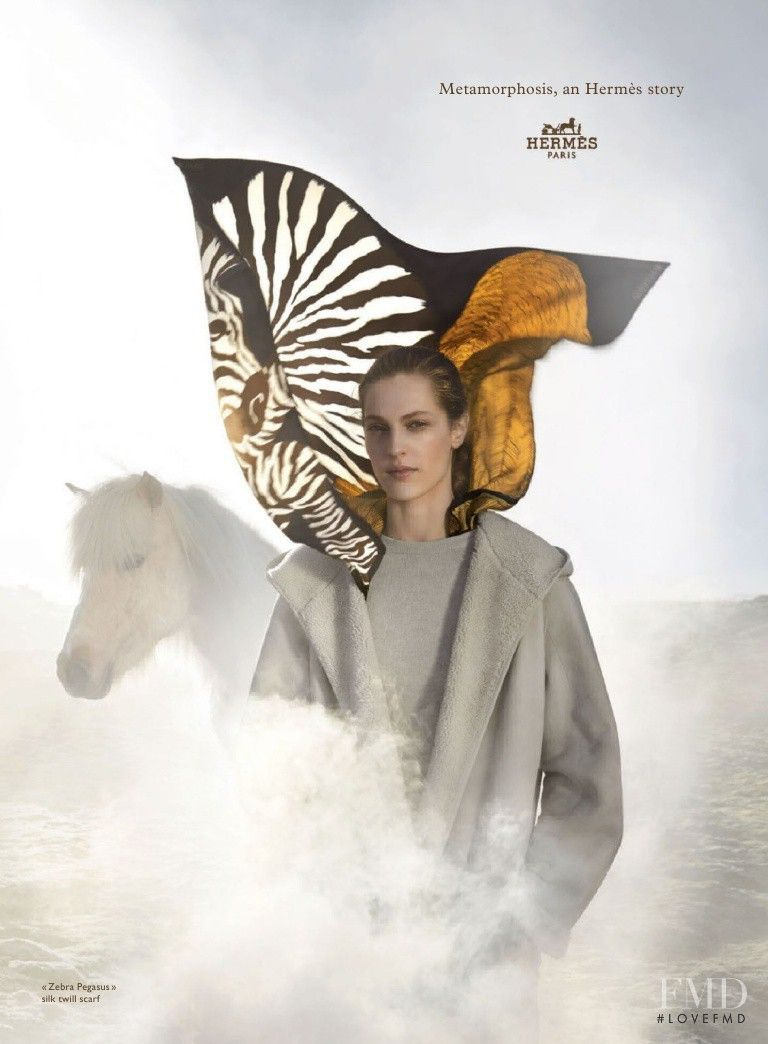 Photo feat. Othilia Simon - Hermes - Autumn/Winter 2014 Ready-to-Wear - Fashion Advertisement | Brands | The FMD #lovefmd