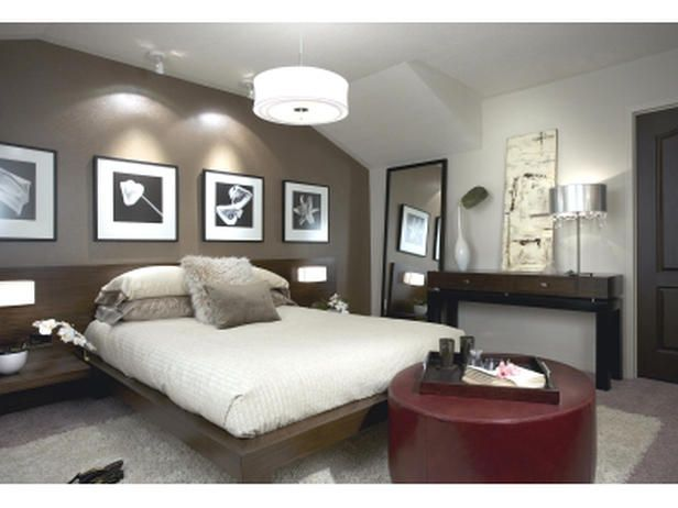 10 Divine Master Bedrooms By Candice Olson Accent Wall Bedroom Master Bedroom Design Brown Accent Wall