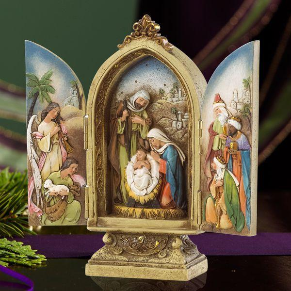 Joseph's Studio Nativity Triptych Figurine by Lenox