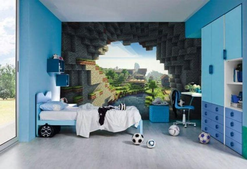 10 Creative Ways Minecraft Bedroom Decor Ideas In Real Life