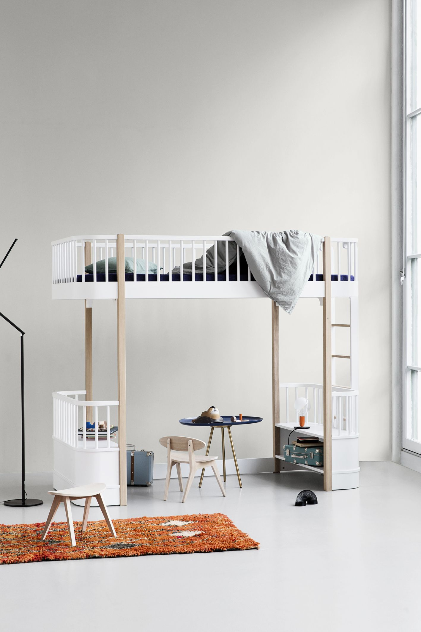 Wood Collection loft bed by Oliver Furniture. | Bird\'s Nest | Kid ...
