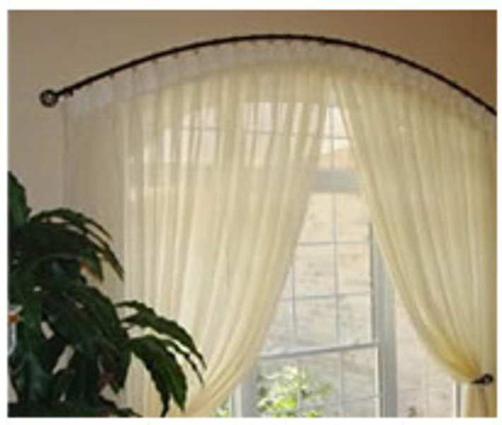 Curtains Rods For Arched Windows Inspiration Ideas 12989
