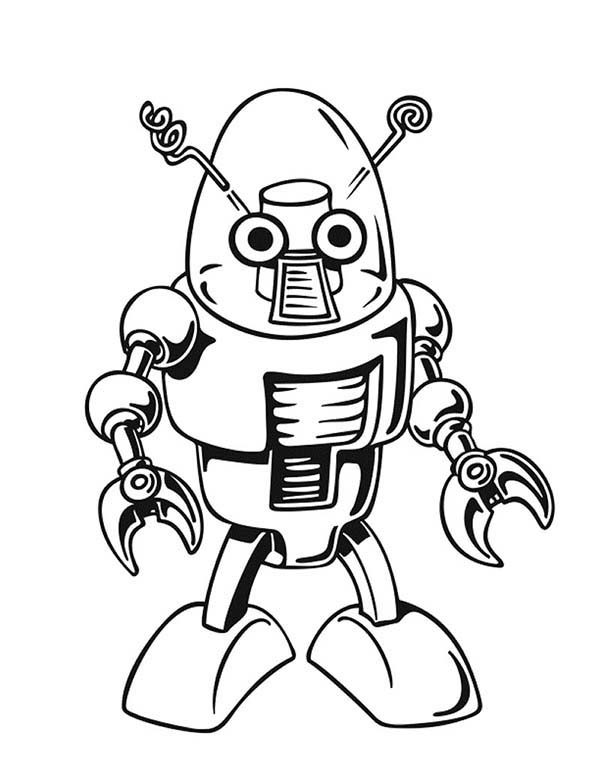 Robot Coloring Pages Best Place To Color