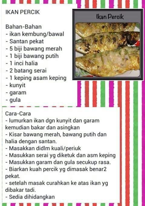 Ikan Percik Fish Recipes Malaysian Food Food