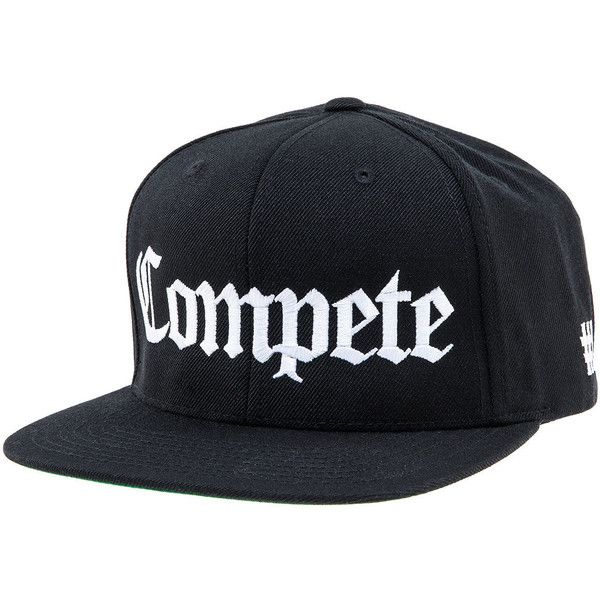 The Forest Lab The Compete OG Snapback Hat in Black (€32) ❤ liked on Polyvore featuring men's fashion, men's accessories, men's hats, men, black, mens snapbacks, mens hats and mens snapback hats