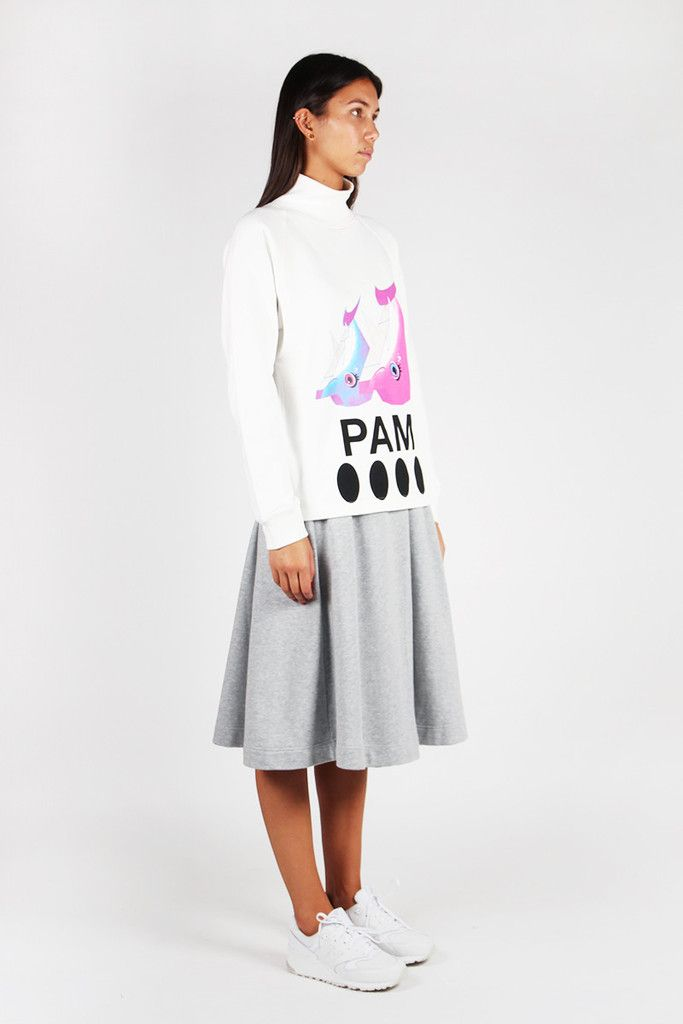 Perks and Mini, Dolphin Dance Sweater - white