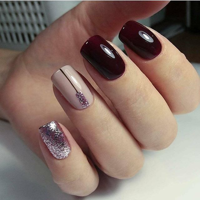Gorgeous nail art design #nails