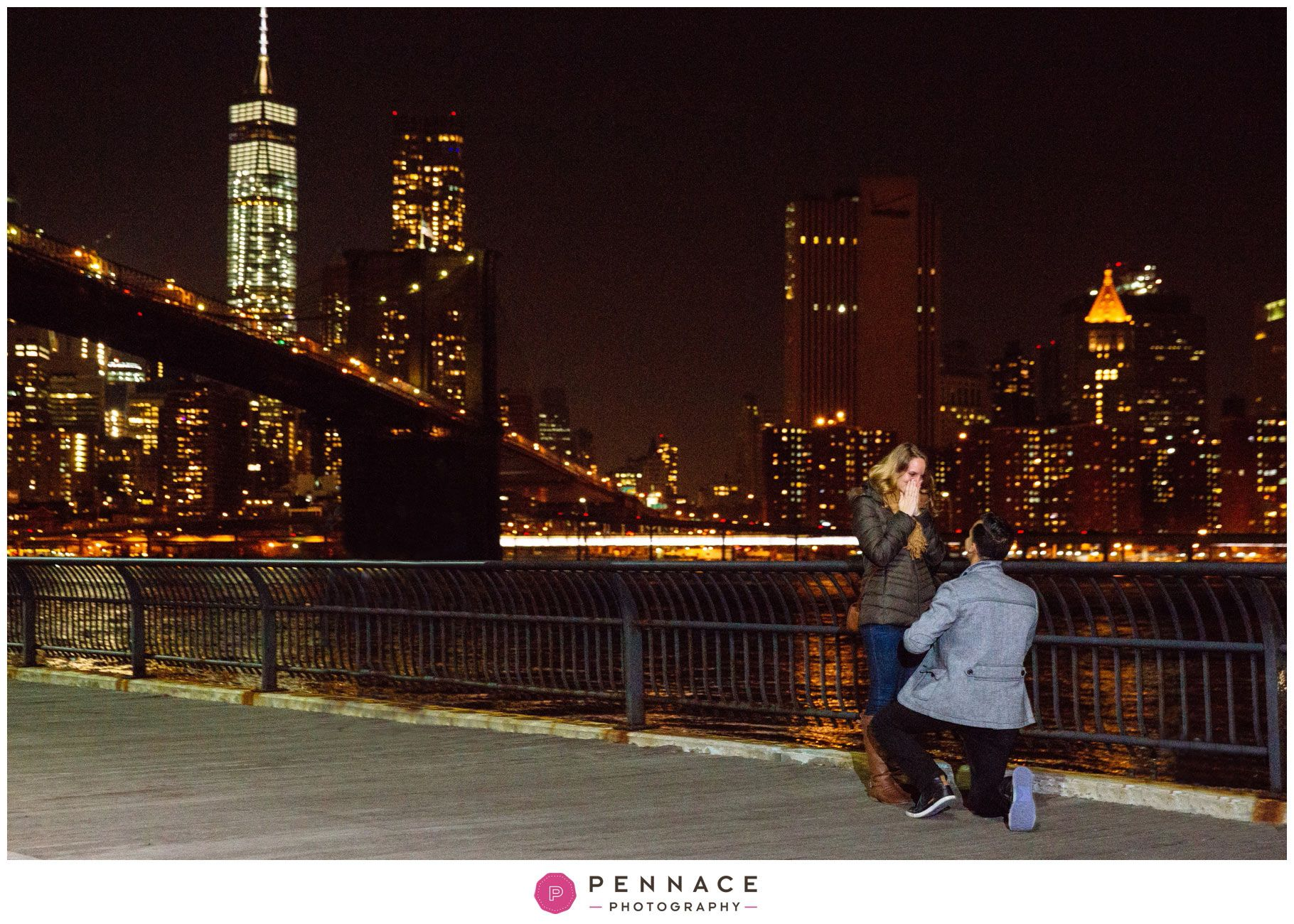 Brooklyn Bridge Park at Night Proposal