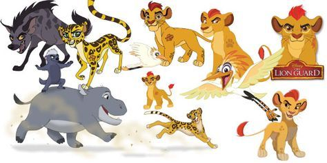The Lion Guard Clipart