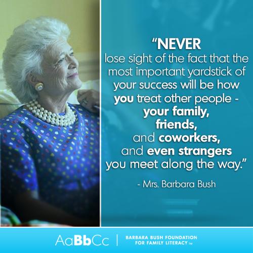 Advice from one of the best I always felt like Barbara
