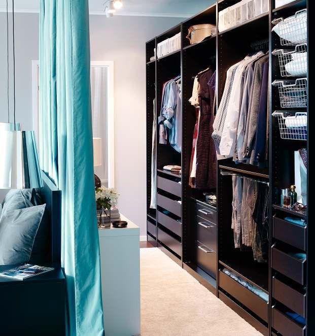 Open Wardrobe 2013 Ikea Home Storage Organization Ideas