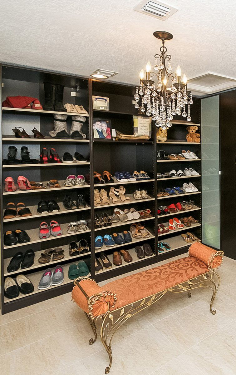 Now this is a closet! There is a place for everything in the gorgeous Boca home!
