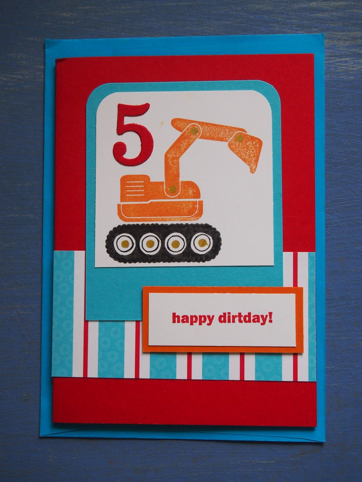 Homemade Birthday Cards For Boys
