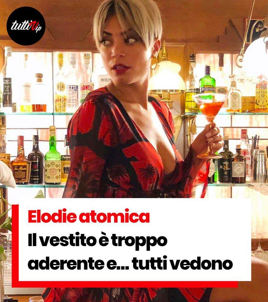 Elodie Atomica Il Vestito E Troppo Aderente E Tutti Vedono Fisico Aderente Outfit