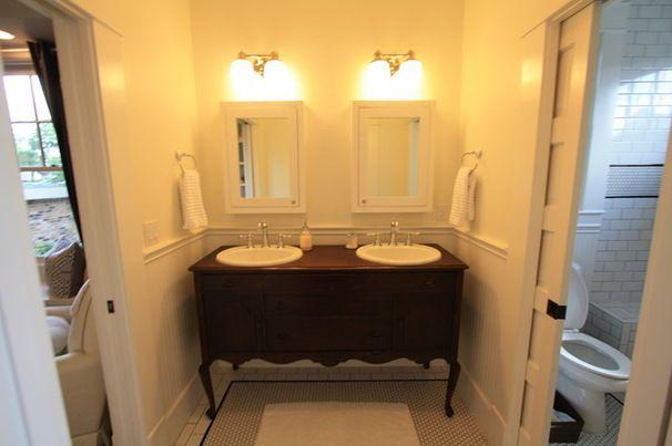 Traditional Bathroom 1920 Craftsman Bathroom Designs Pinterest