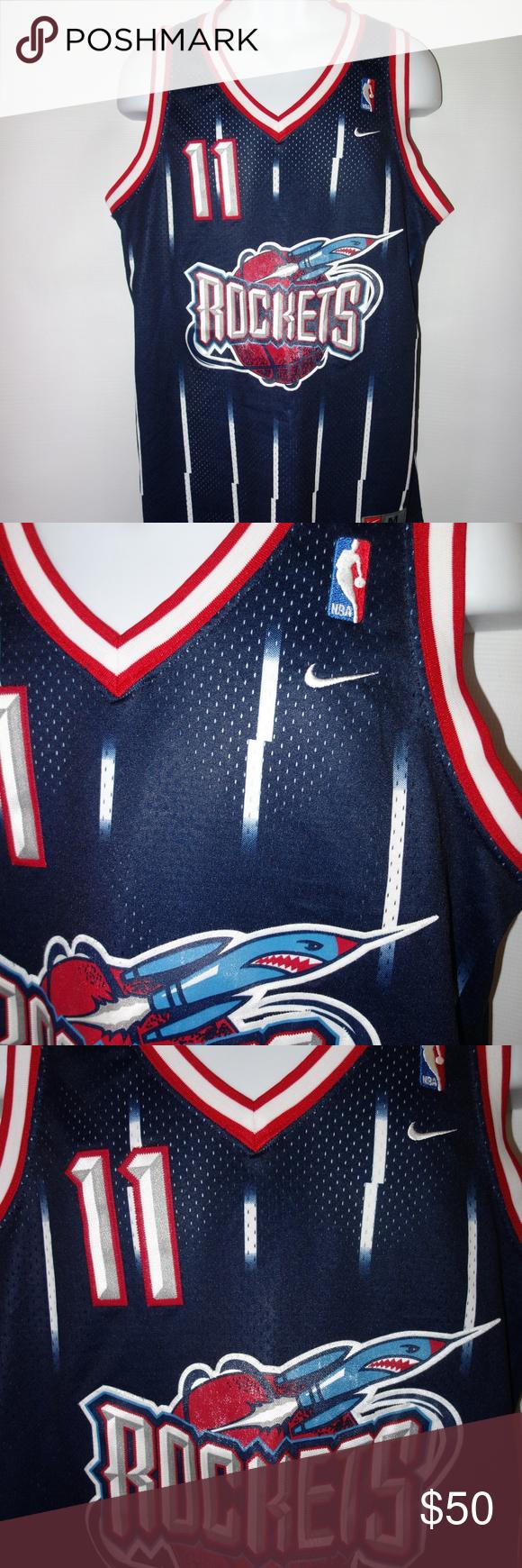 premium selection 8da2b 1de36 Nike Houston Rockets Yao Ming Jersey #11 M Blue Nike Houston ...