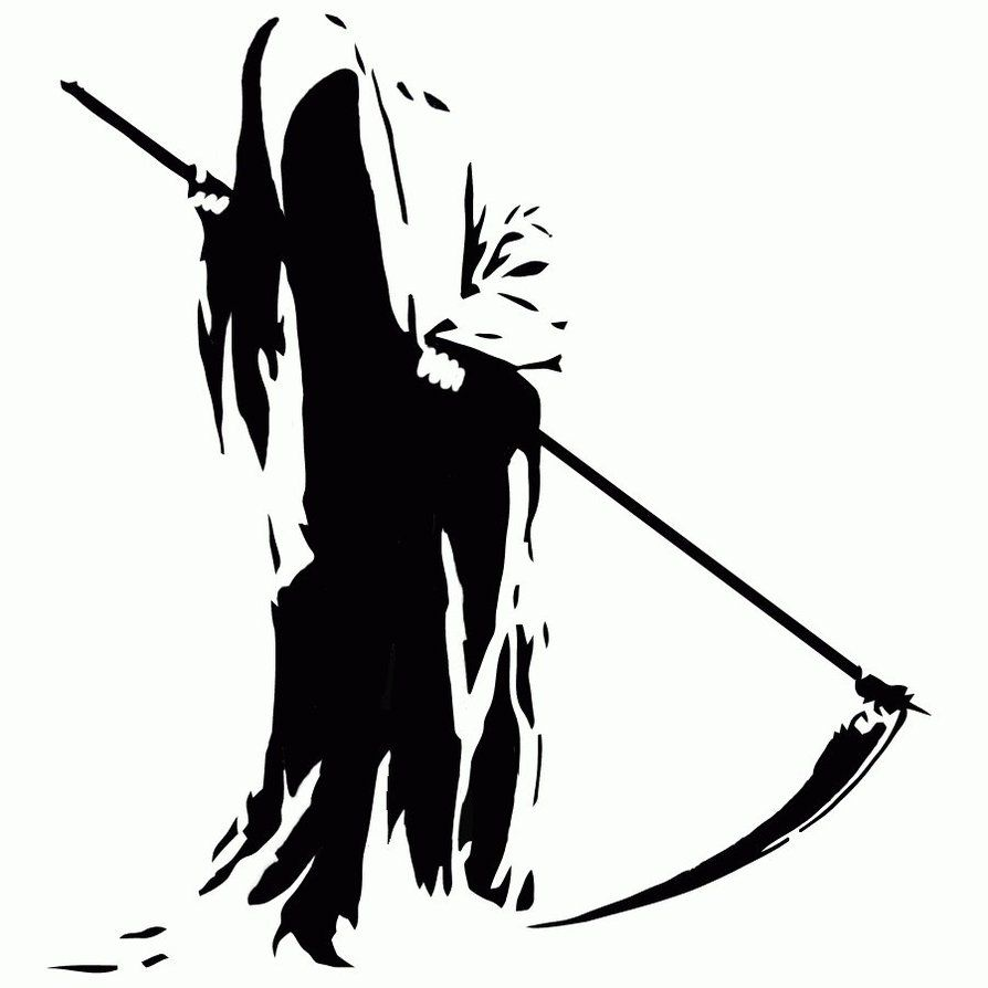 Grim Reaper Clipart By Kgcopper On Deviantart Grim Reaper Cartoon Wallpaper Hd Reaper
