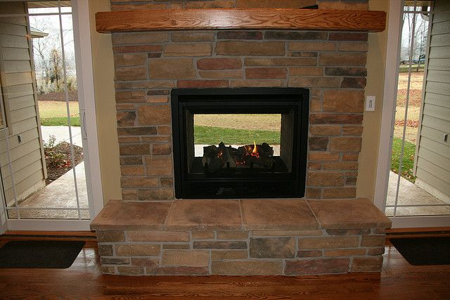 Stone Fireplace Indoor Outdoor Fireplaces Outside Fireplace Outdoor Fireplace