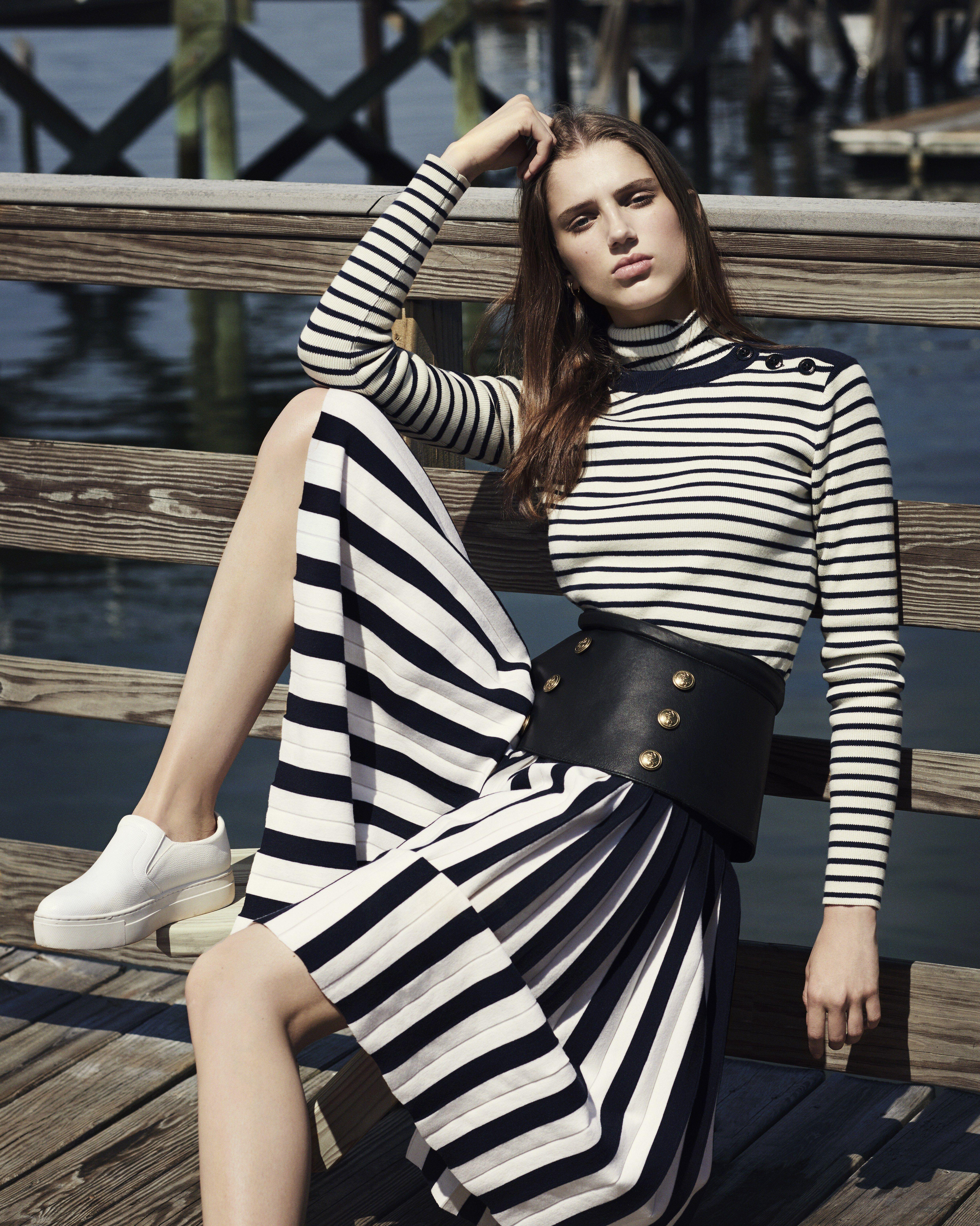 2019 year lifestyle- Nautical trend stripes