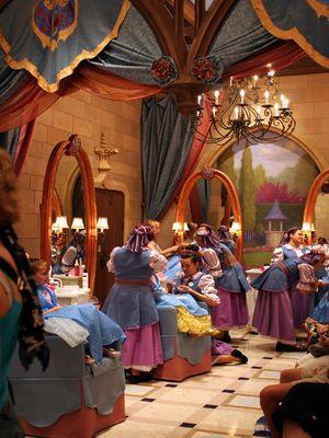 The Bibbidi Bobbidi Boutique At Cinderella S Castle In The Magic