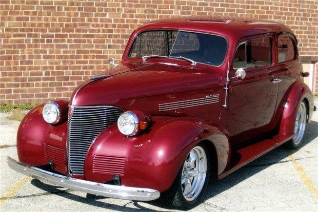 1939 Chevrolet Custom 2 Door Sedan Custom Cars Sedan Cars Fancy Cars