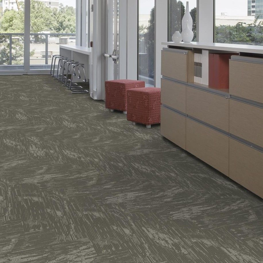 Ef Contract S Veil 12 X 48 Carpet Tile Herringbone Installation Shown Other Sizes Methods Of Installation Flooring Carpet Flooring Carpet Installation
