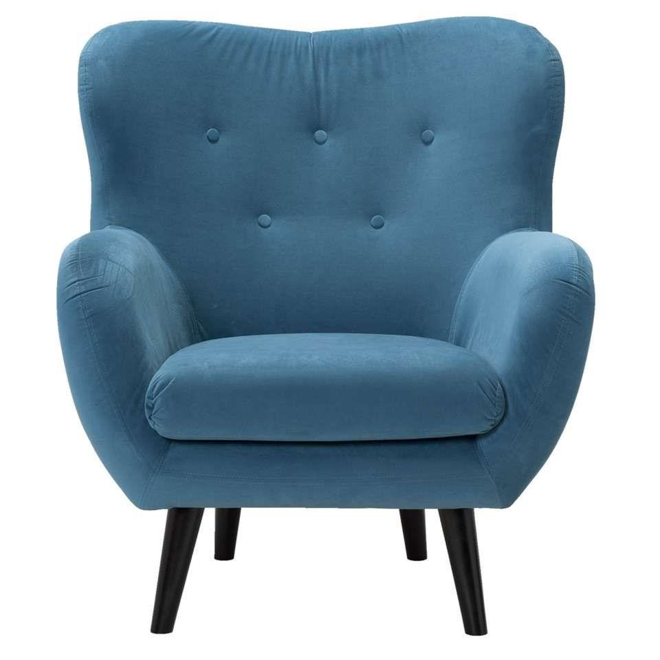 fauteuil viborg victoria bleu p trole id es maison. Black Bedroom Furniture Sets. Home Design Ideas