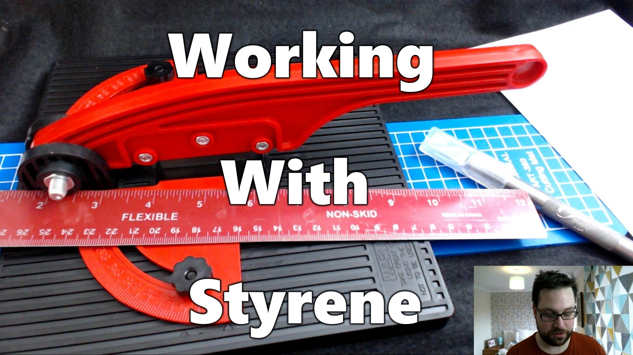 Working With Styrene - Cutting Sheets