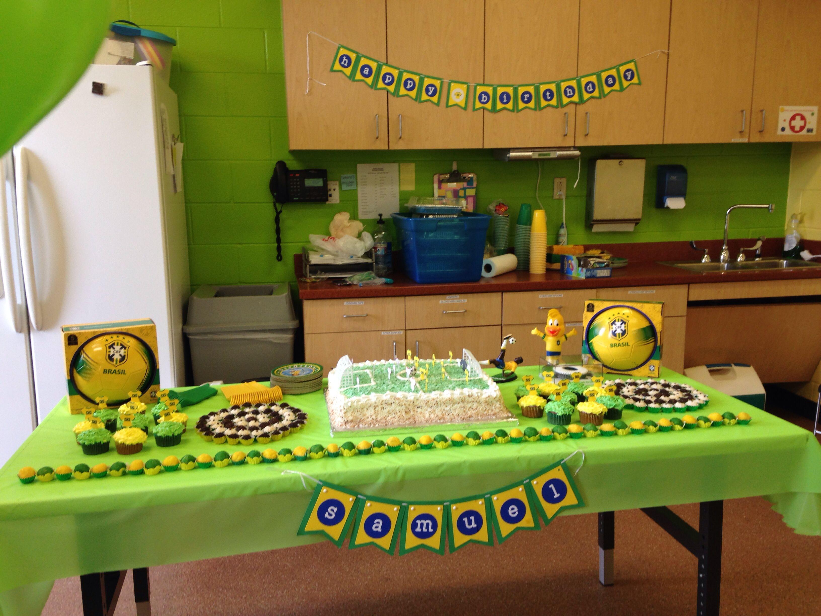 Brazil Birthday Party