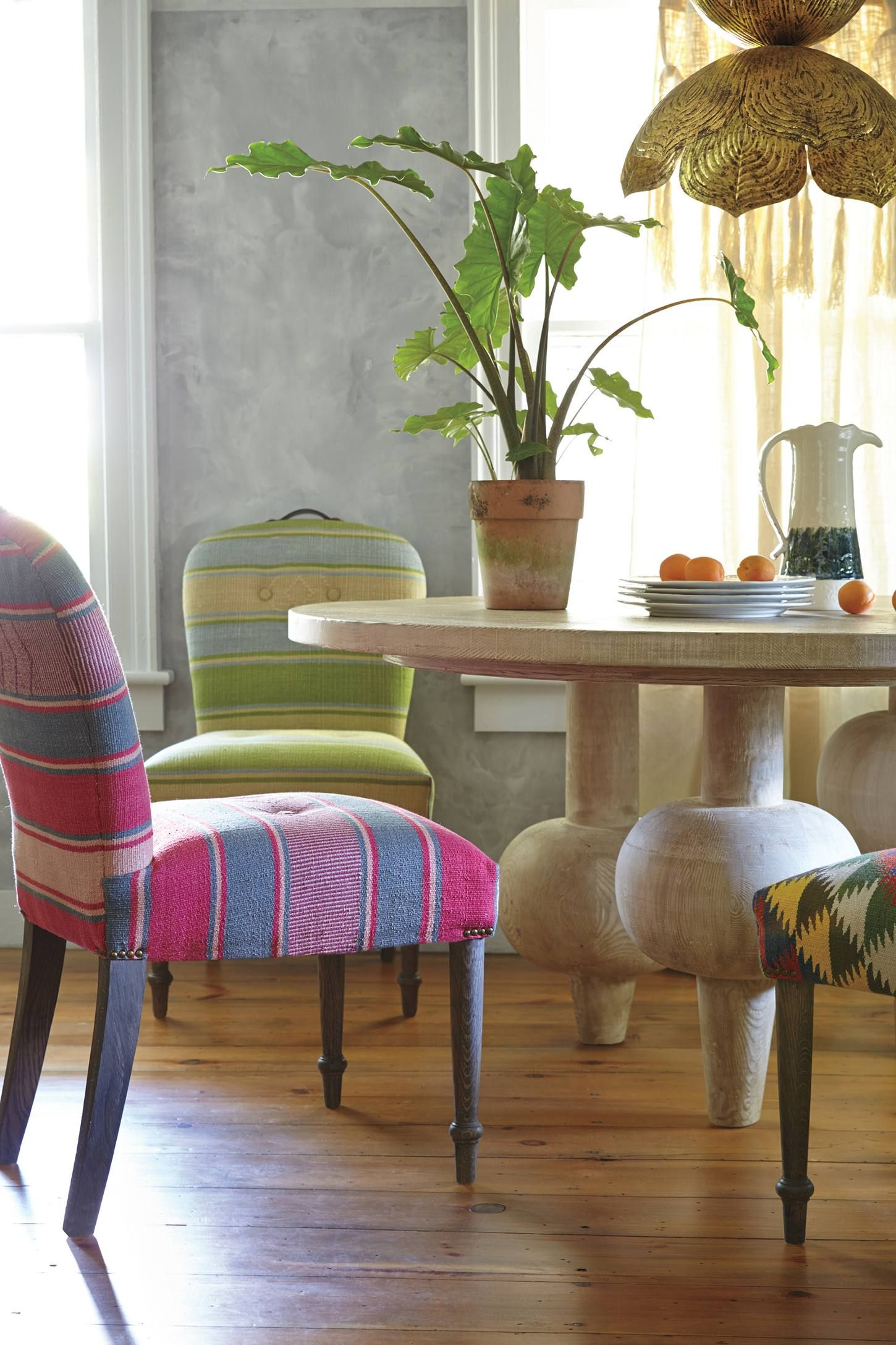 Ordinaire Folkthread Chair Kit Kemp #Anthrofave · Dining Room ...