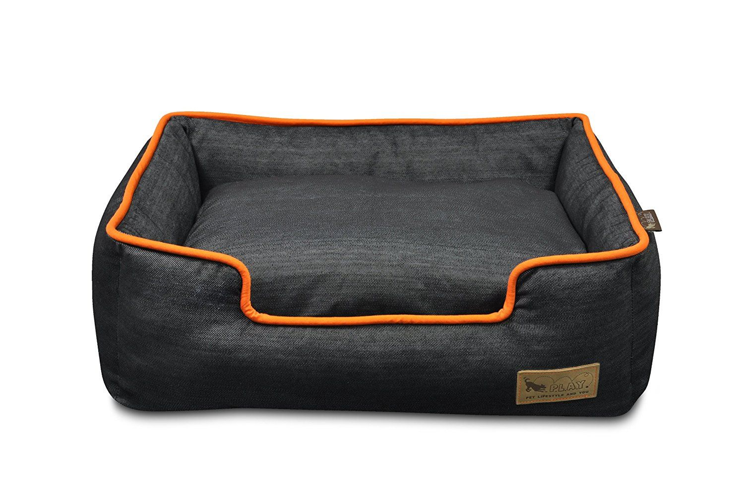 P L A Y Pet Lifestyle And You Lounge Beds For Dogs Click Image To Review More Details This Is An Affiliate Link Pet Sofa Denim Dog Bed Dog Bed