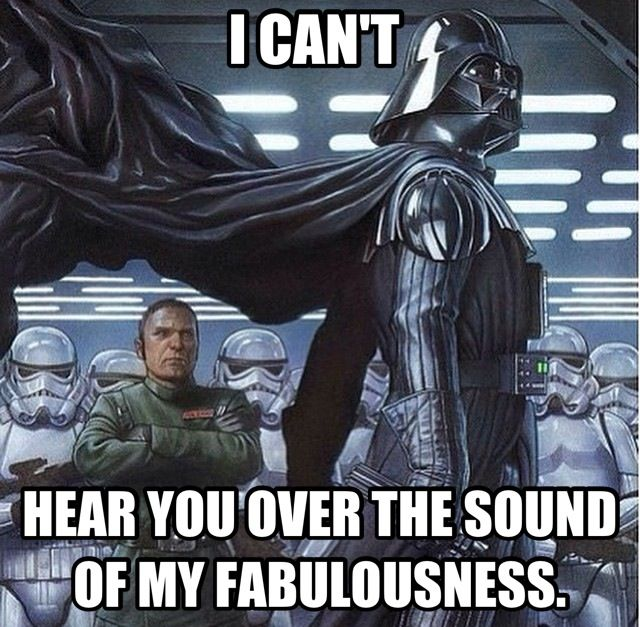 Darth Vader canu0027t hear you over the sound of his fabulousness! #Star - new blueprint medicines general counsel