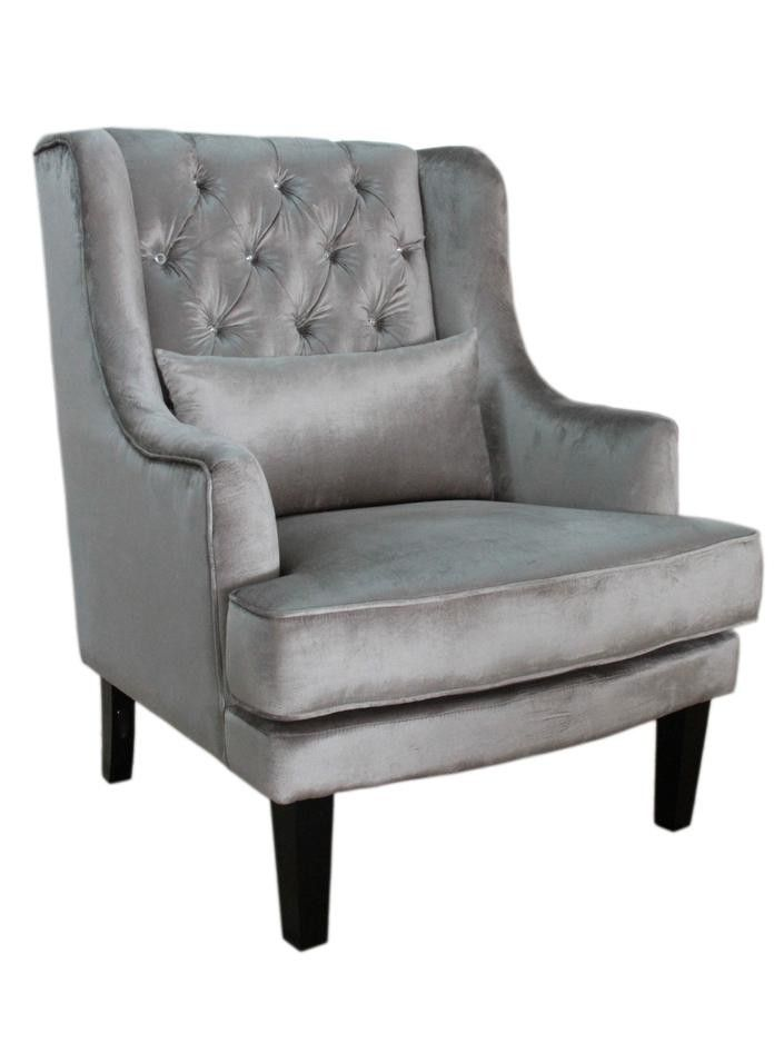 Georgia Diamond Wing Chair Wayfair Australia Comfy Office