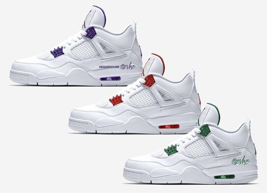Air Jordan 4 Metallic Pack 2020 Release Date - Sneaker Bar Detroit ...