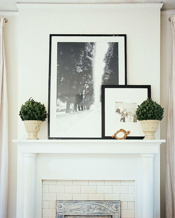 ▷ 1001 + ideas sobre cómo decorar una chimenea en 85 imágenes