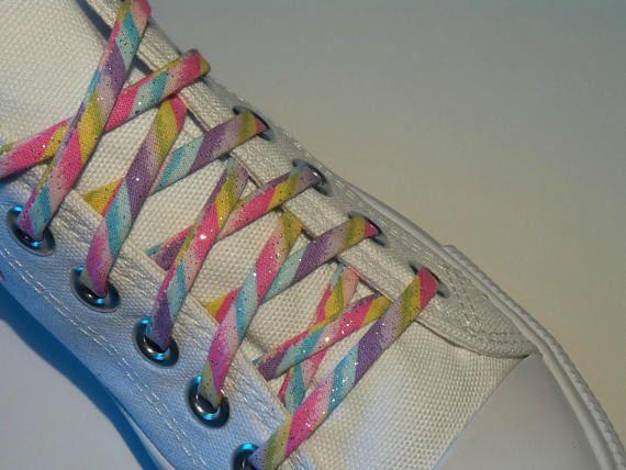 287db8788188 Sparkle glitter Shoelaces Cutelaces sparkle converse Sparkle Converse