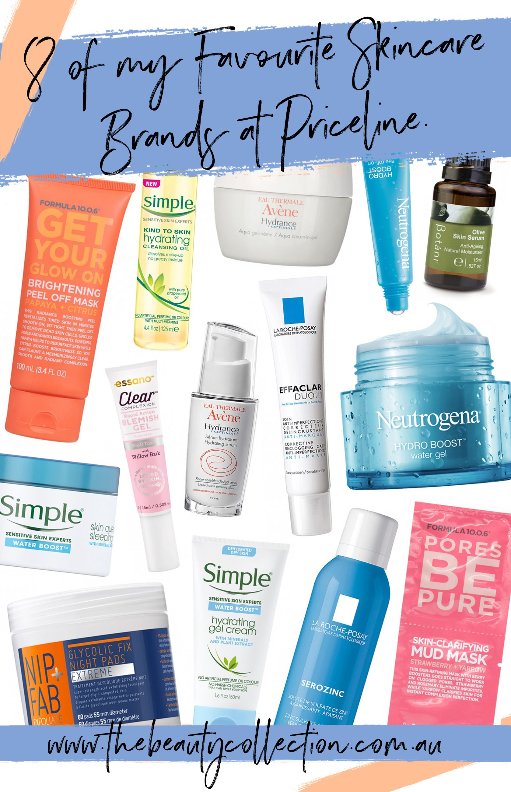 c2734a053fc Eight of My Favourite Skincare Brands from Priceline / 40% Off Skincare  Sale Recommendations!